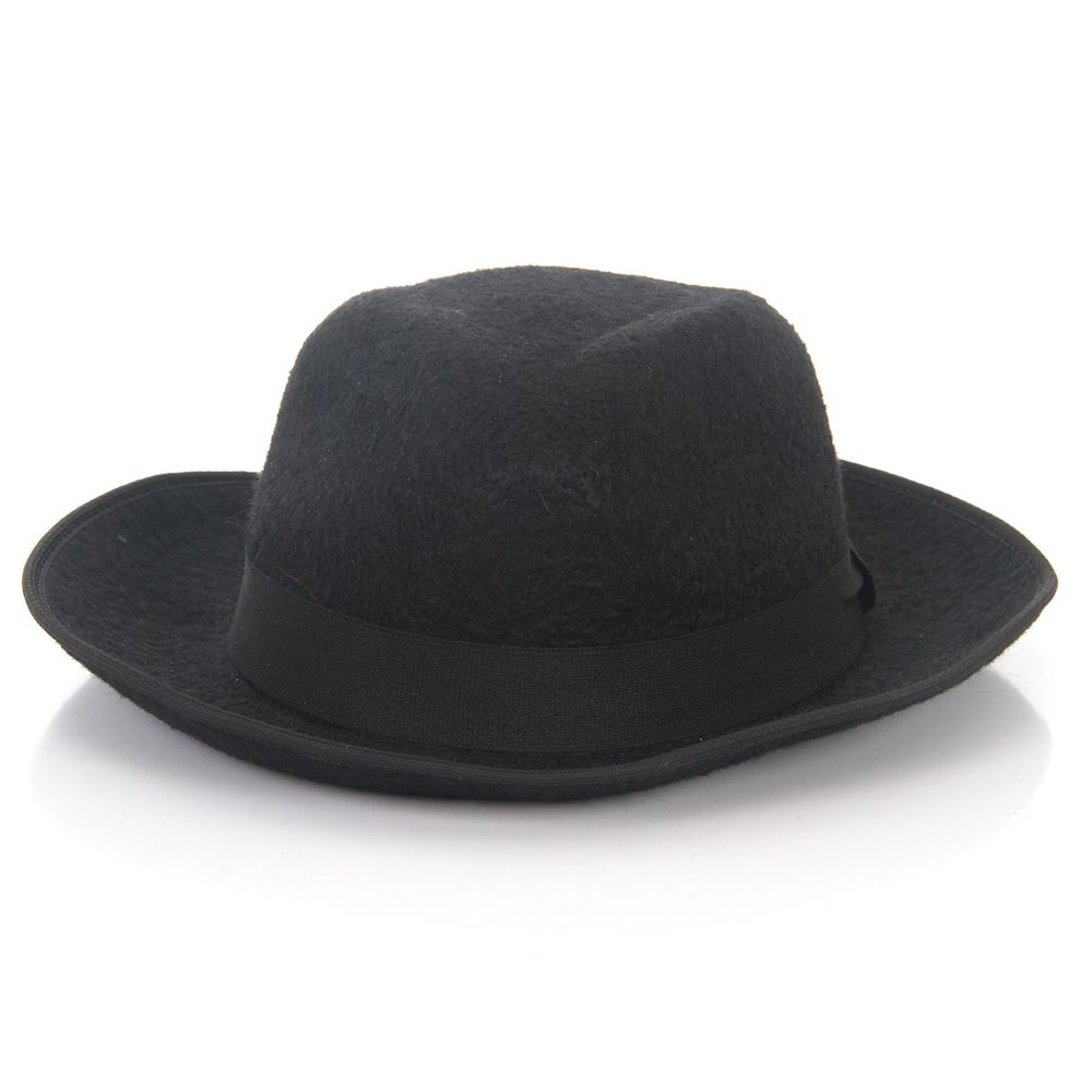 Chapéu Gangster - Preto Unica 0f04282a16b