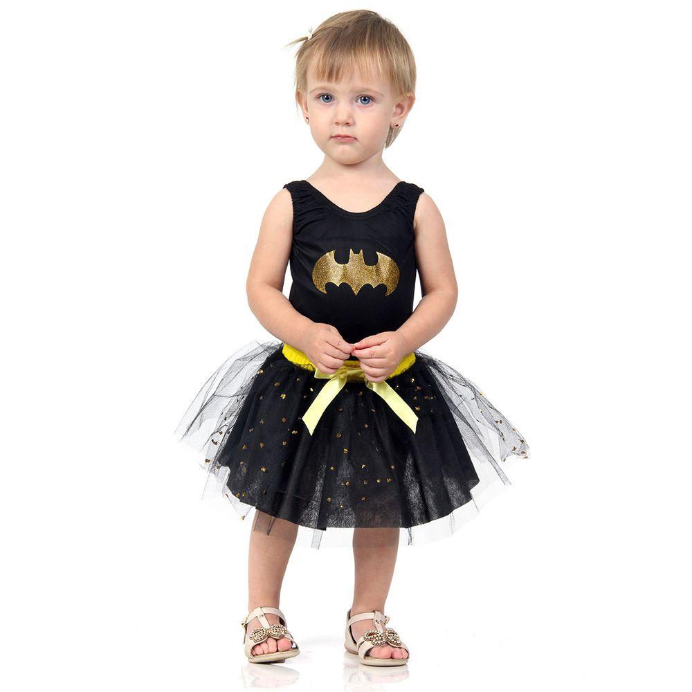 3e3345da0 Fantasia Batgirl bebê Dress Up - Abrakadabra