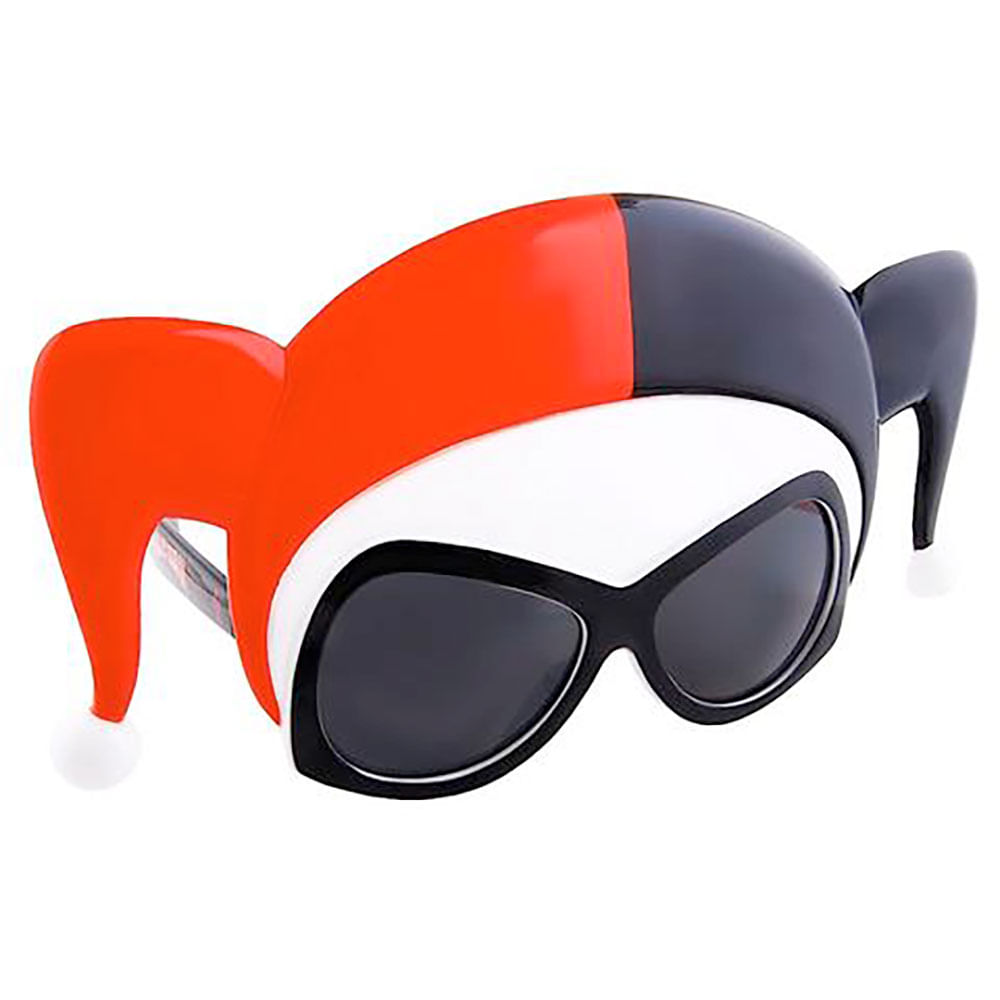 Máscara Óculos Arlequina - Harley Quinn   Abrakadabra - Clube de Herois ee40e01fce
