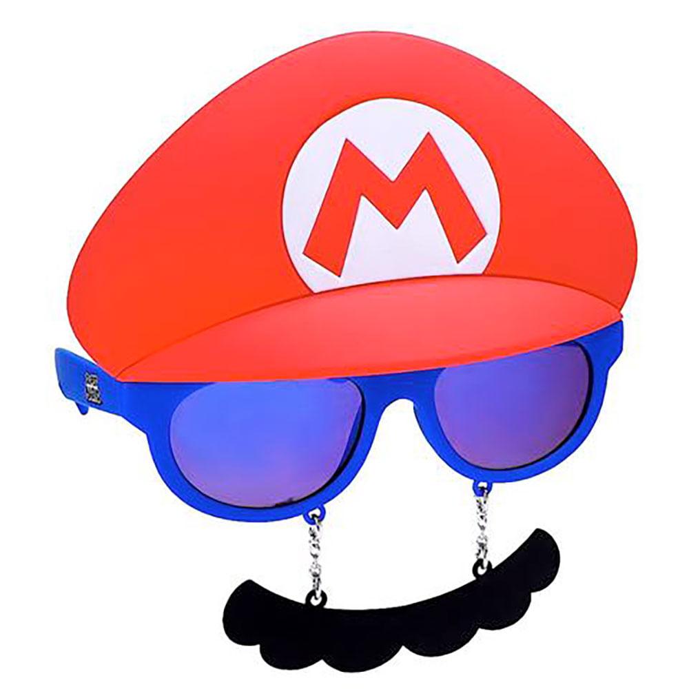 Máscara Óculos Mario Bros   Abrakadabra - Abrakadabra a9a42997ee