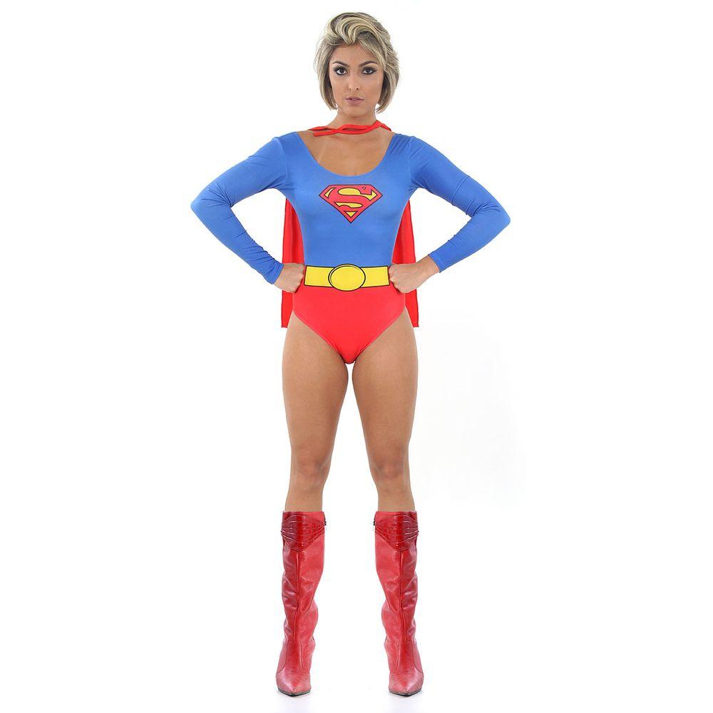 a4b71309483058 Body Super Girl ou fantasia Body Super Mulher - Abrakadabra
