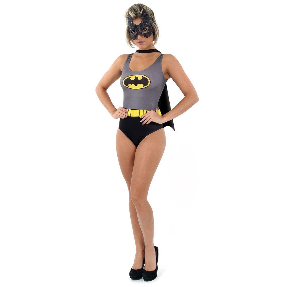 8ea896a64 Fantasia Body Batman feminina - Abrakadabra