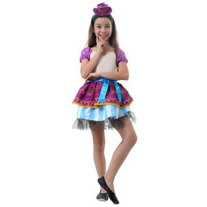 Fantasia Madeline Hatter Infantil - Ever After High