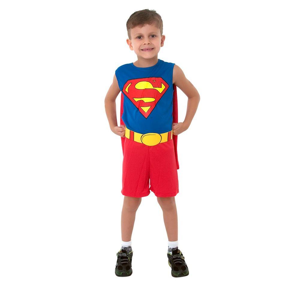 1920791df02411 Fantasia Infantil Super Homem Regata   Abrakadabra Fantasias ...
