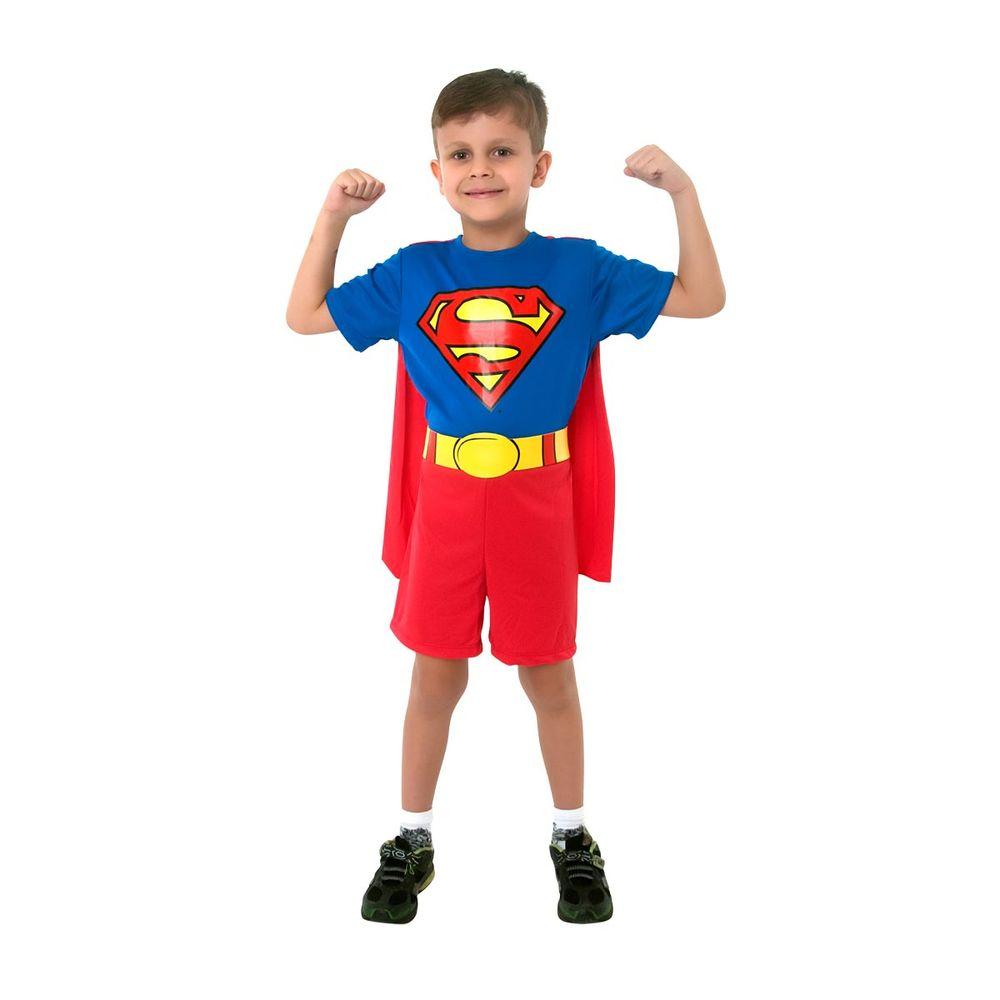 119ab2eab54d3e Fantasia Infantil Super Homem Pop | Abrakadabra Fantasias - Clube de ...