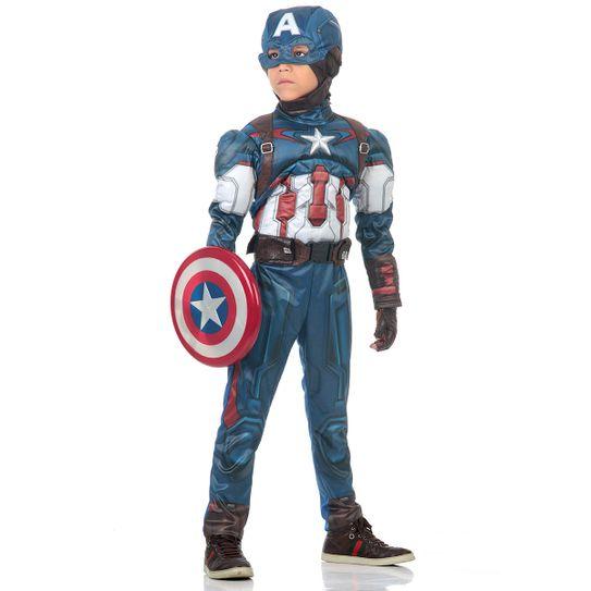 e0857ee39a5 Fantasia Capitão América infantil - Abrakadabra