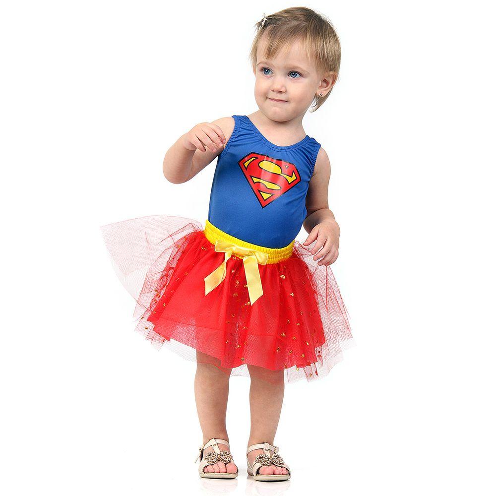40cc4d20f9f84a Fantasia Super Mulher Bebê - roupa para bebê - Abrakadabra