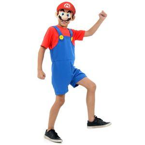 Fantasia Mario Bros Infantil Curto - Super Mario