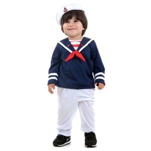 Fantasia Marinheiro Bebê - Marinheiros