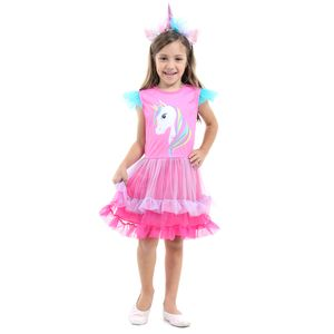 Fantasia Unicornio Infantil Faces Luxo