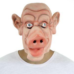 670715728f Máscara Porco Latex - Sulamericana