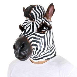 Máscara Zebra Latex - Sulamericana
