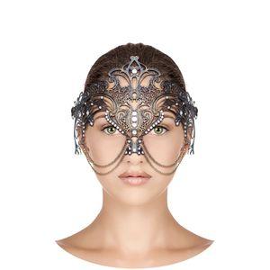 Máscara Veneziana Selene - Bronze
