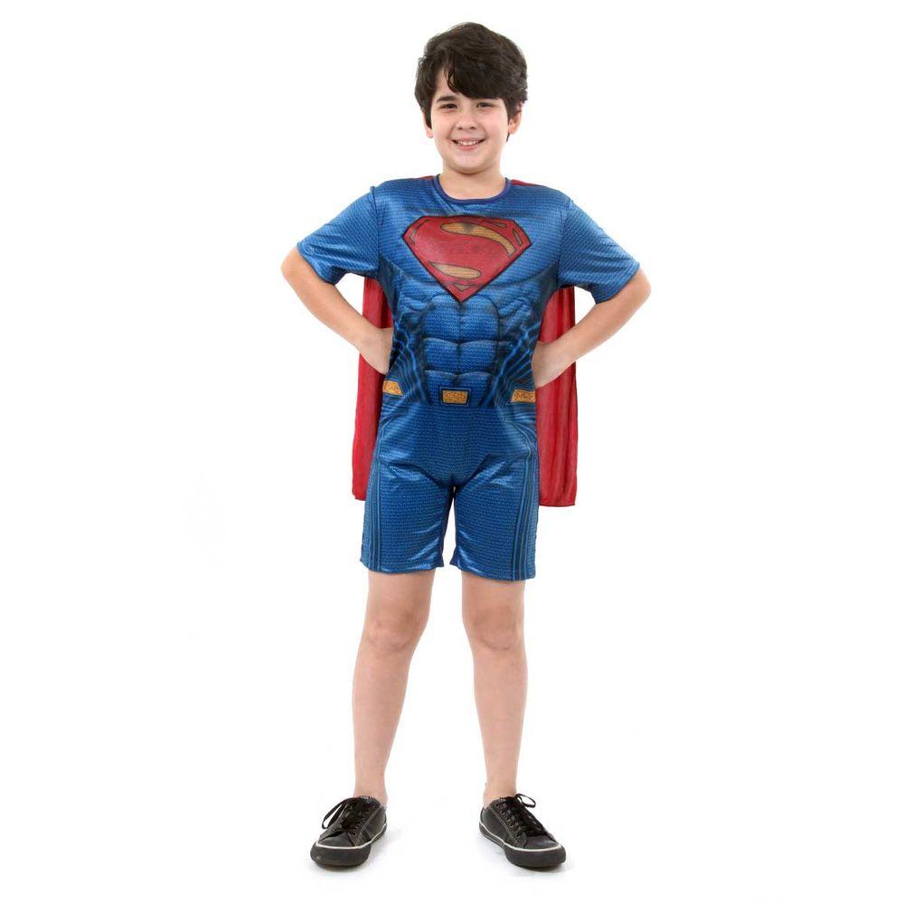 26a845910c0714 Fantasia Super Homem infantil curta - Abrakadabra