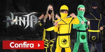 Fantasias de Ninja