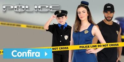 Fantasias de Policial