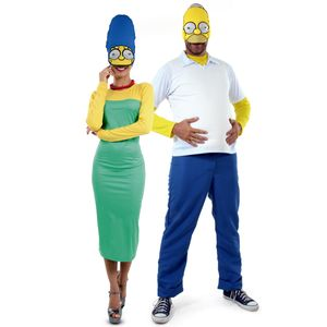 Fantasia-de-Casal-Homer-e-Marge-Simpsons-Adulto