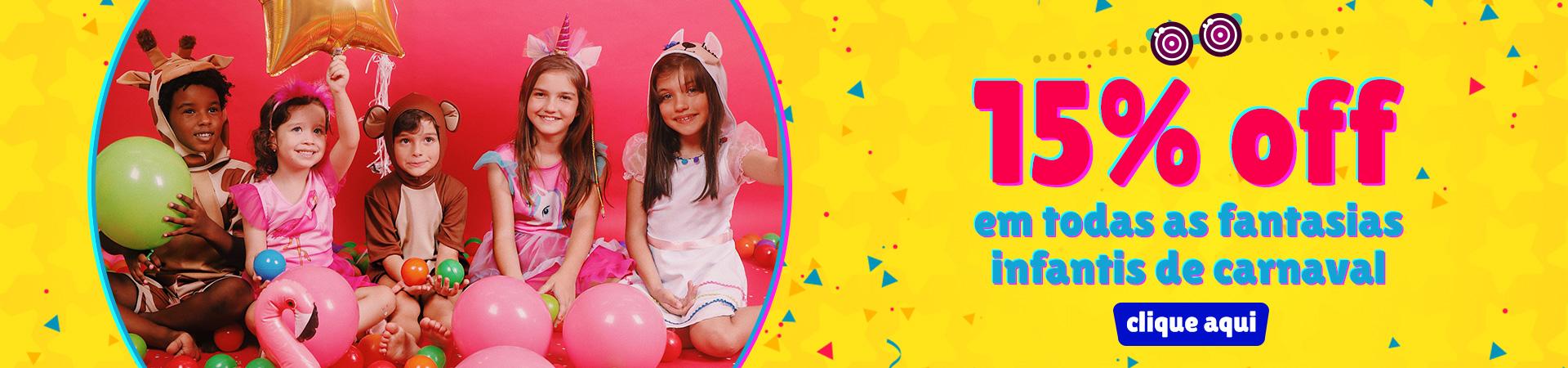 Infantil Carnaval - 15OFF