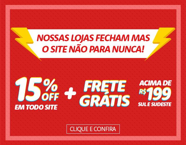 15% OFF site todo
